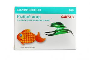 Биафишенол с морскими водорослями