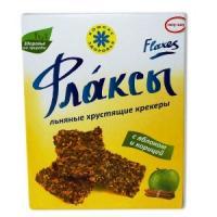 Флаксы льняные С ЯБЛОКОМ И КОРИЦЕЙ 150 г