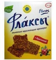 Флаксы льняные С БРУСНИКОЙ 150 г
