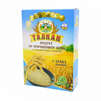 Талкан 4 злака НЕЖНЫЙ RAW (пшеница,рожь,овес,ячмень), 350 гр. Актирман